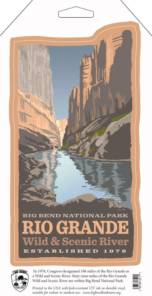 Rio Grande Wild & Scenic River Color Decal