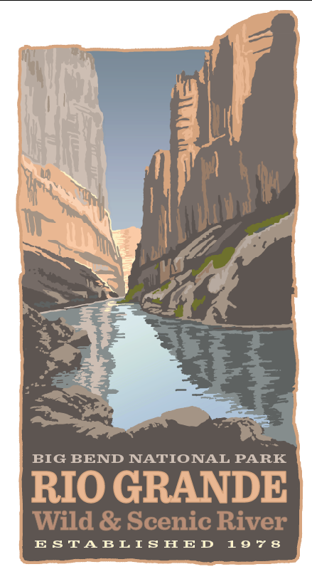 Limited Edition Rio Grande WSR Print - Click Image to Close