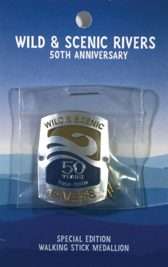 Wild & Scenic Rivers 50th Anniversary Hiking Medallion