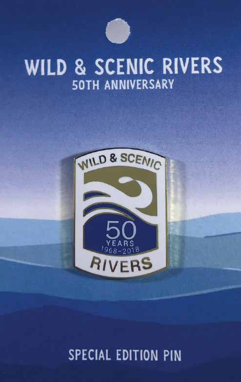 Wild & Scenic Rivers 50th Anniversary Pin