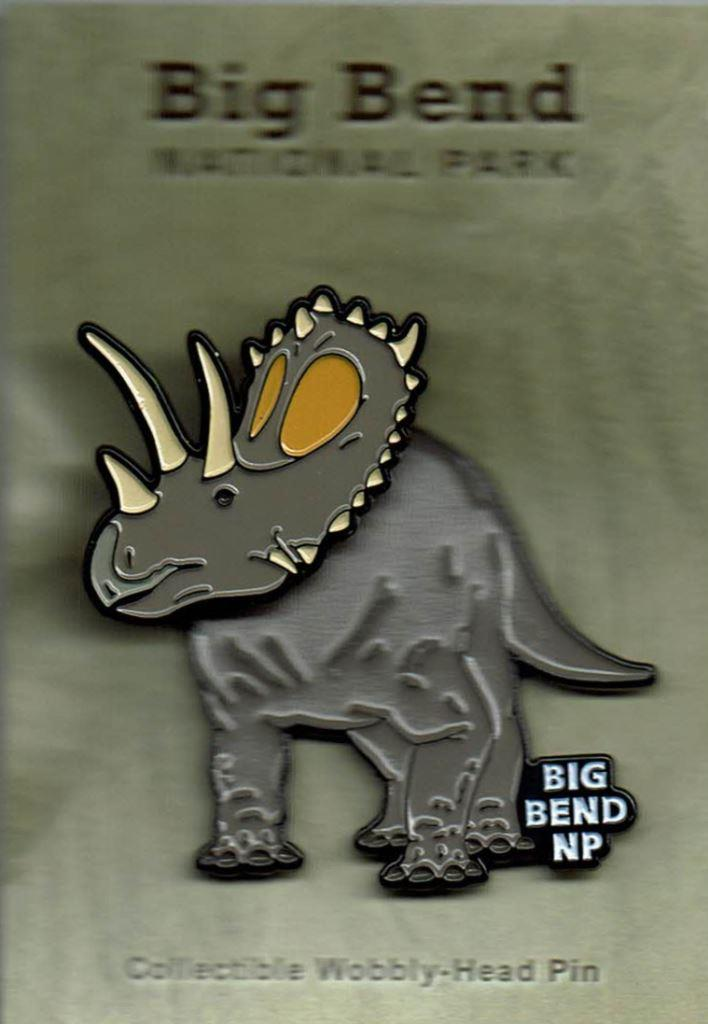 Bravoceratops Wobbly-head Pin
